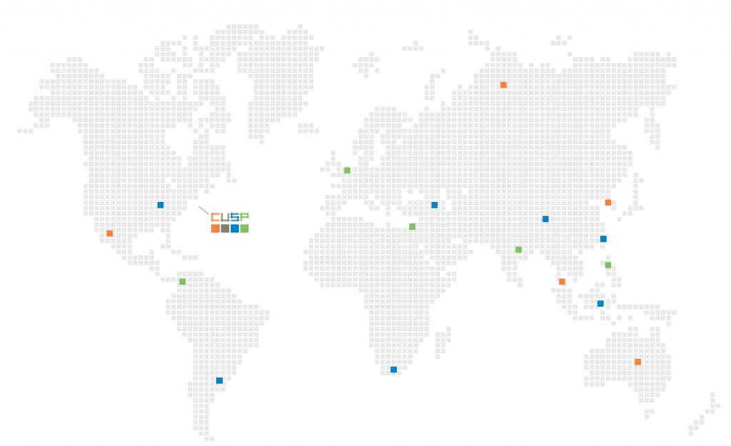 CUSP world map