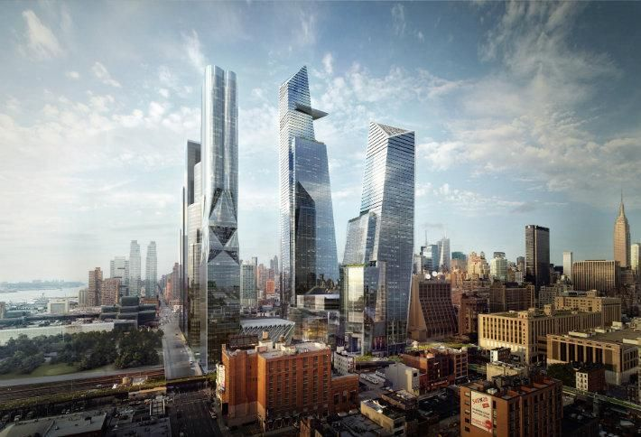 Hudson Yards Quantified Community