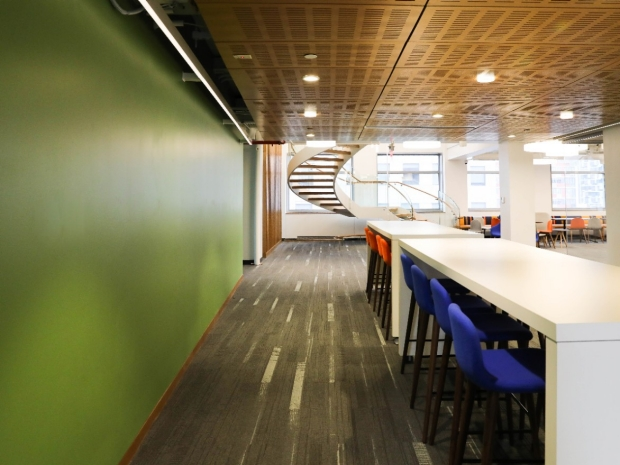 NYU CUSP's interior at 370 Jay Street