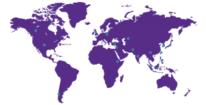 World Map of CUSP students