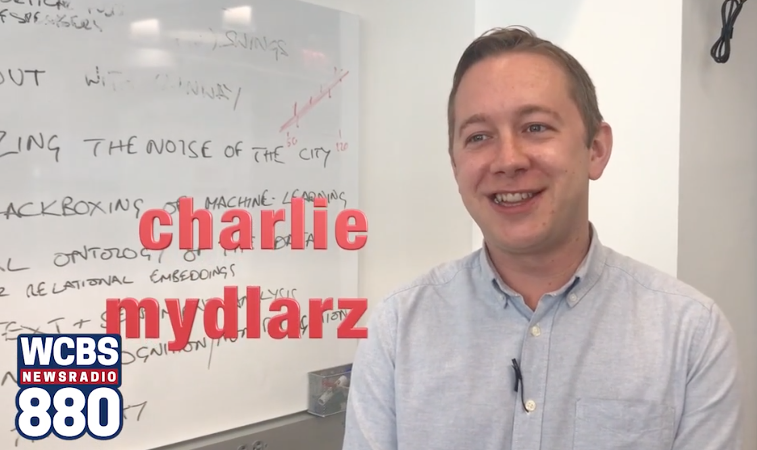 Senior Research Scientist Charlie Mydlarz