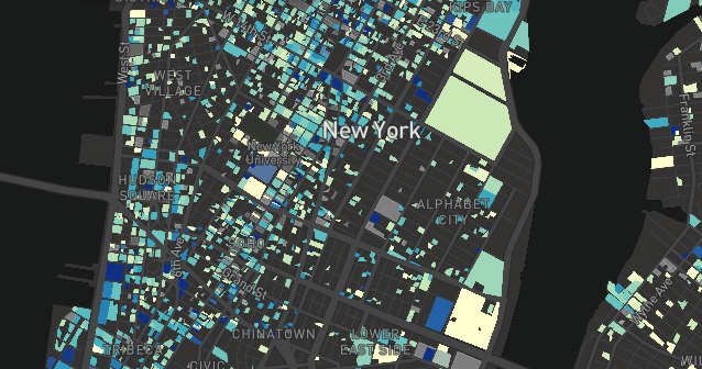 NYC Energy & Water Performance Map