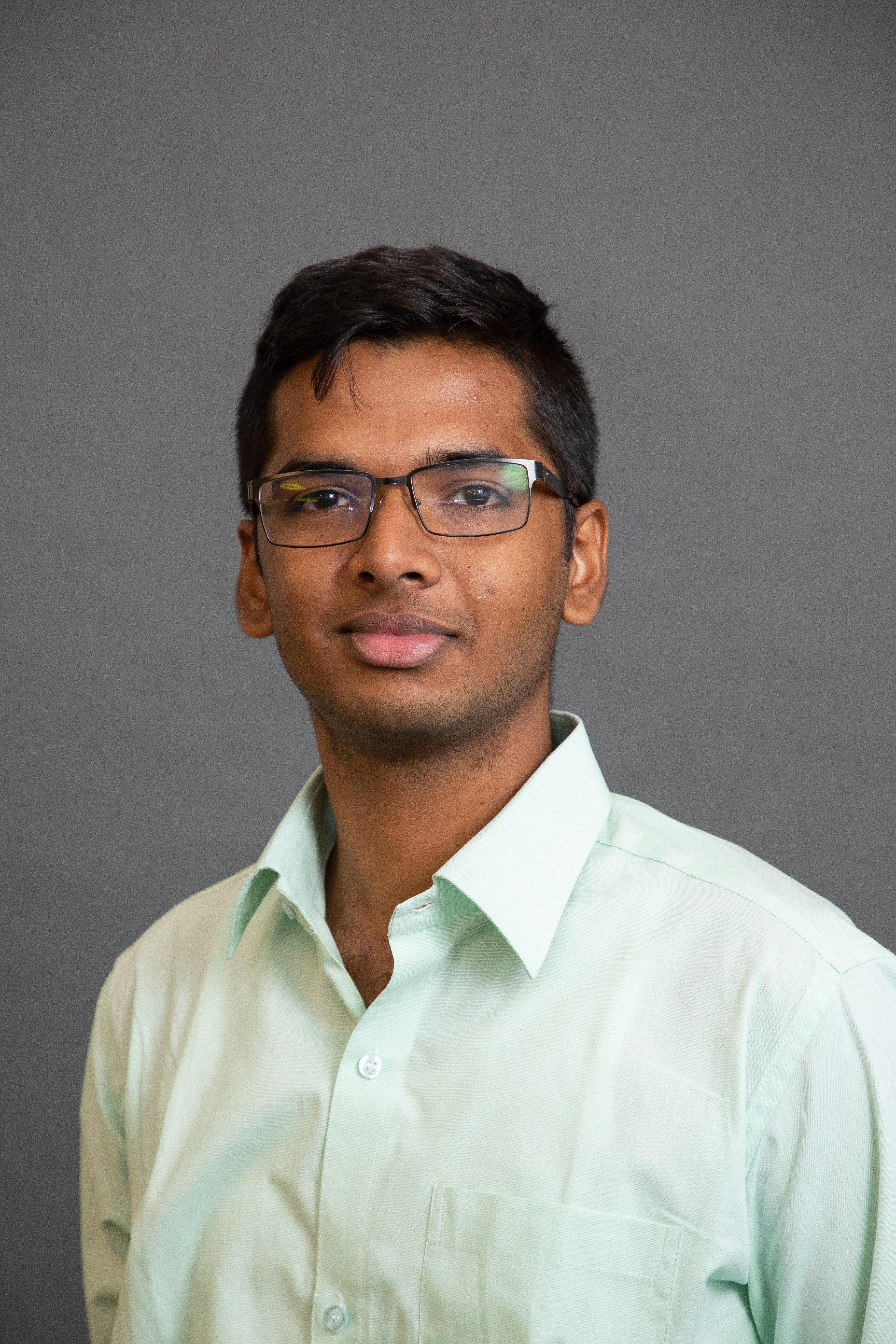 Headshot of Ram Sowmya Naryanan