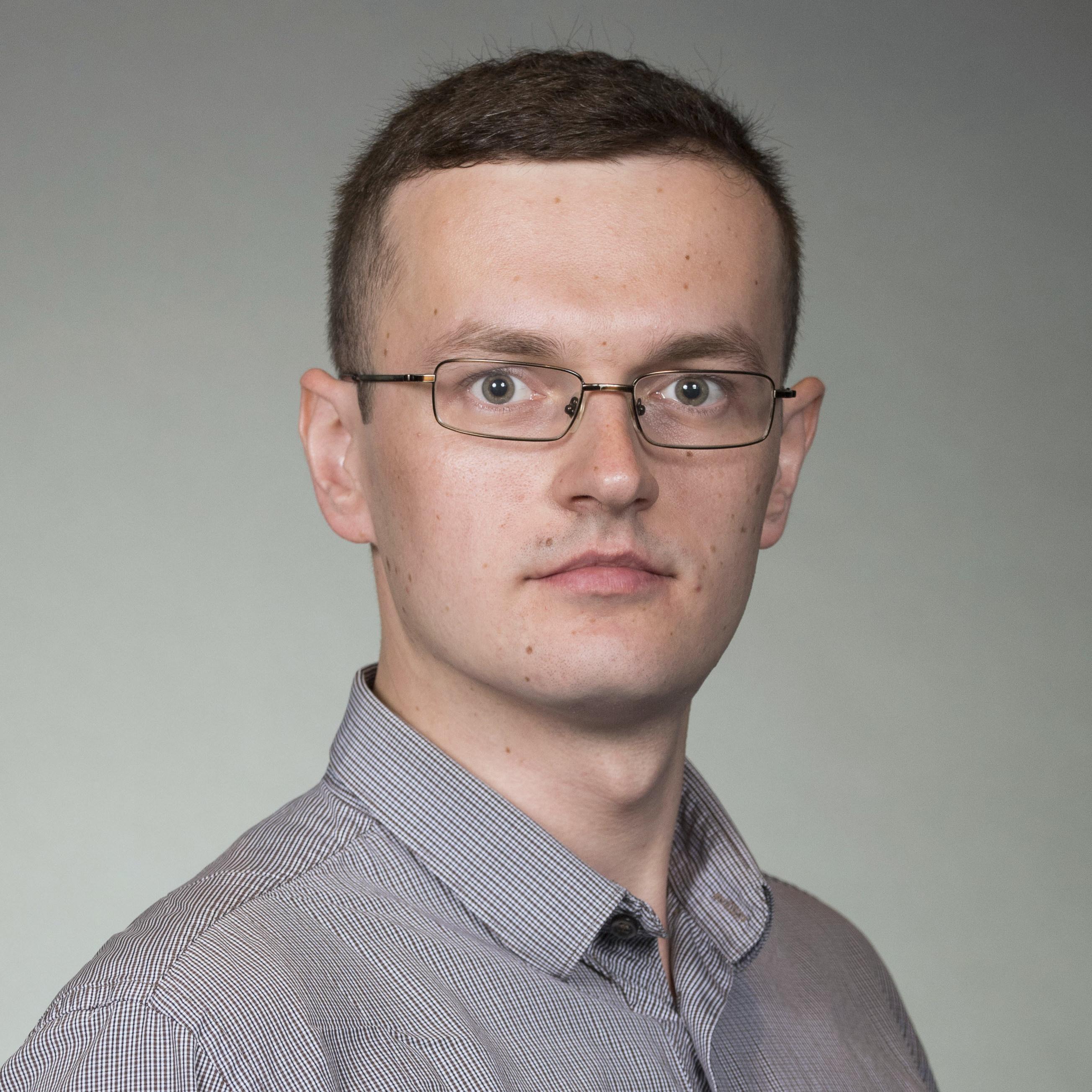 Headshot of Yurii Piadyk