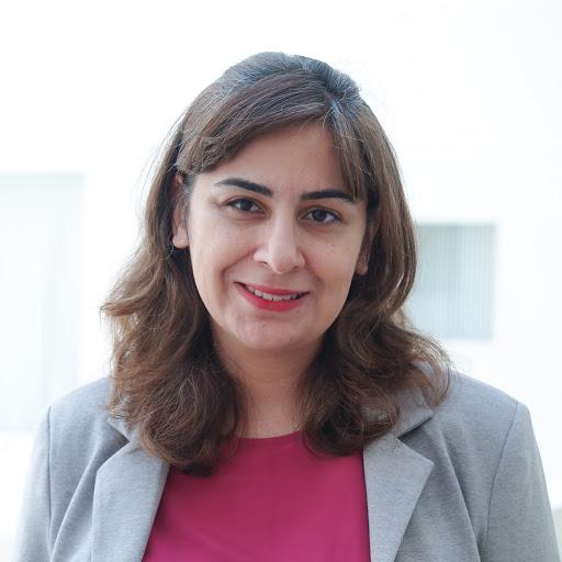 Portrait of Golnaz Habibi
